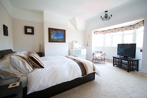Comfortable bright bedrooms